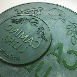laser cut stamp, eco rubber