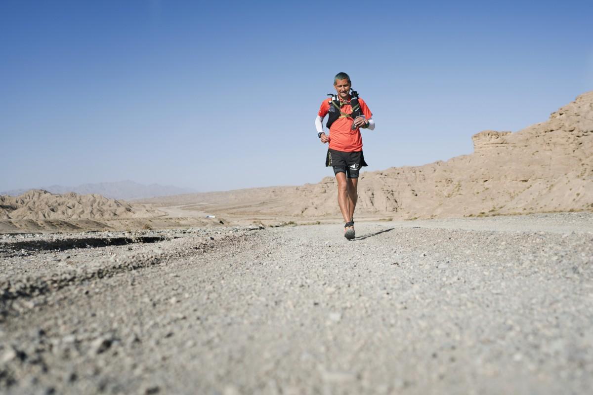 Dan Lawson Ultra Runner in the desert